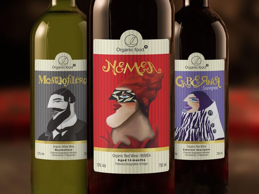 organic wines 3 bottles