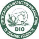 certified organic by dio logo